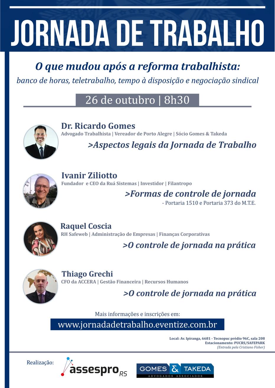 Assespro Evento Jornada de Trabalho | 26.10.2018
